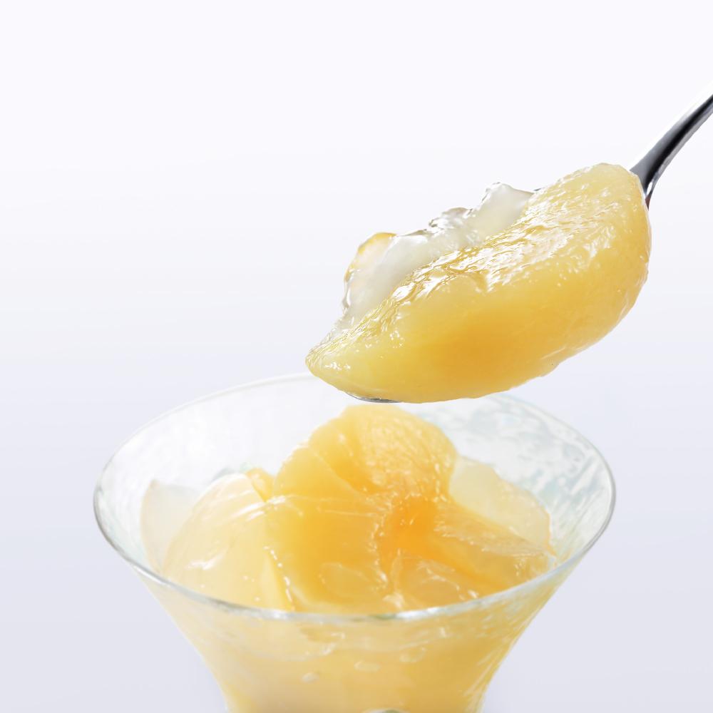 ◆夏の和菓 花の実り「ふくしま桃のピューレゼリー」_e0218089_15001491.jpg