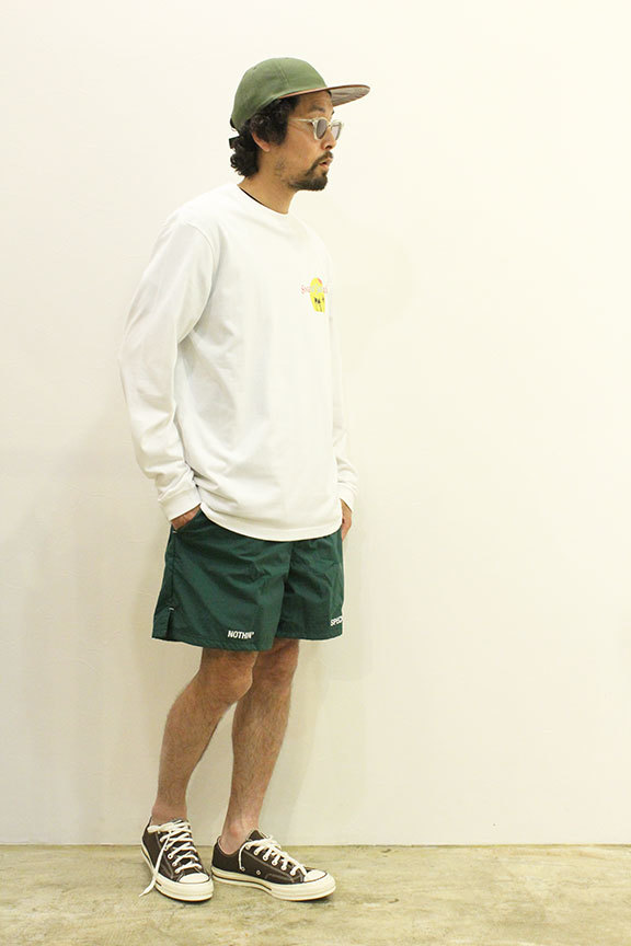 """NOTHIN\'SPECIAL (ナッシンスペシャル) \"""" OUT OF NOTHING NYLON SHORTS \""""_b0122806_13365096.jpg"""
