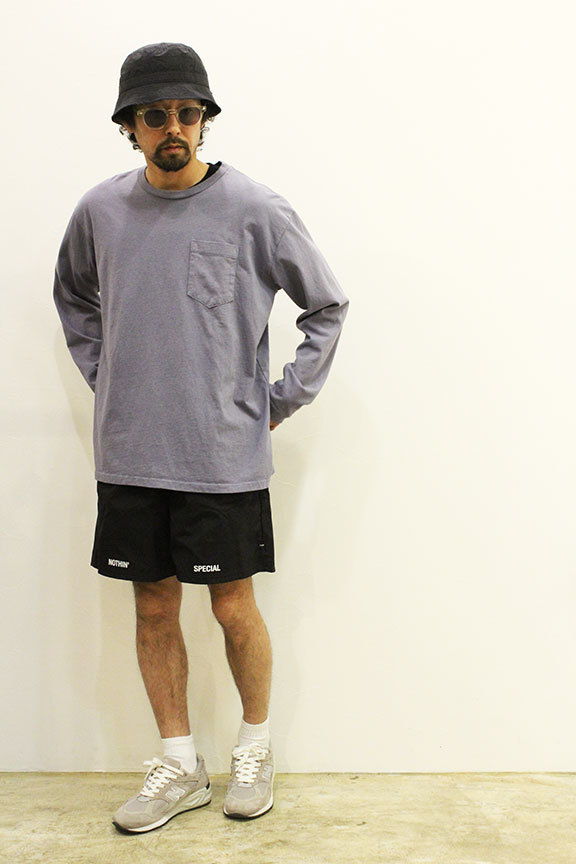 """NOTHIN\'SPECIAL (ナッシンスペシャル) \"""" OUT OF NOTHING NYLON SHORTS \""""_b0122806_13370459.jpg"""