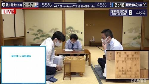 ようやく散髪した藤井聡太2冠_f0096508_17323396.jpg