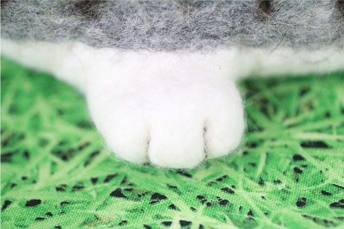 にゃんこバッグ2号 - Wool 120%