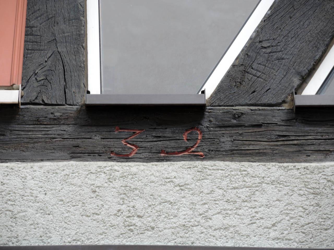 Friedberg の街で見かけた文字(2)おもしろい数字がたくさん_e0175918_00050223.jpeg
