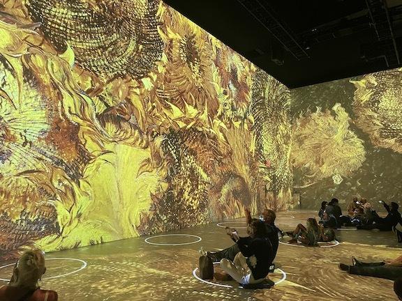ゴッホのデジタル展に没入、包帯を巻いて巨匠になりきってみた!_c0050387_14464398.jpg