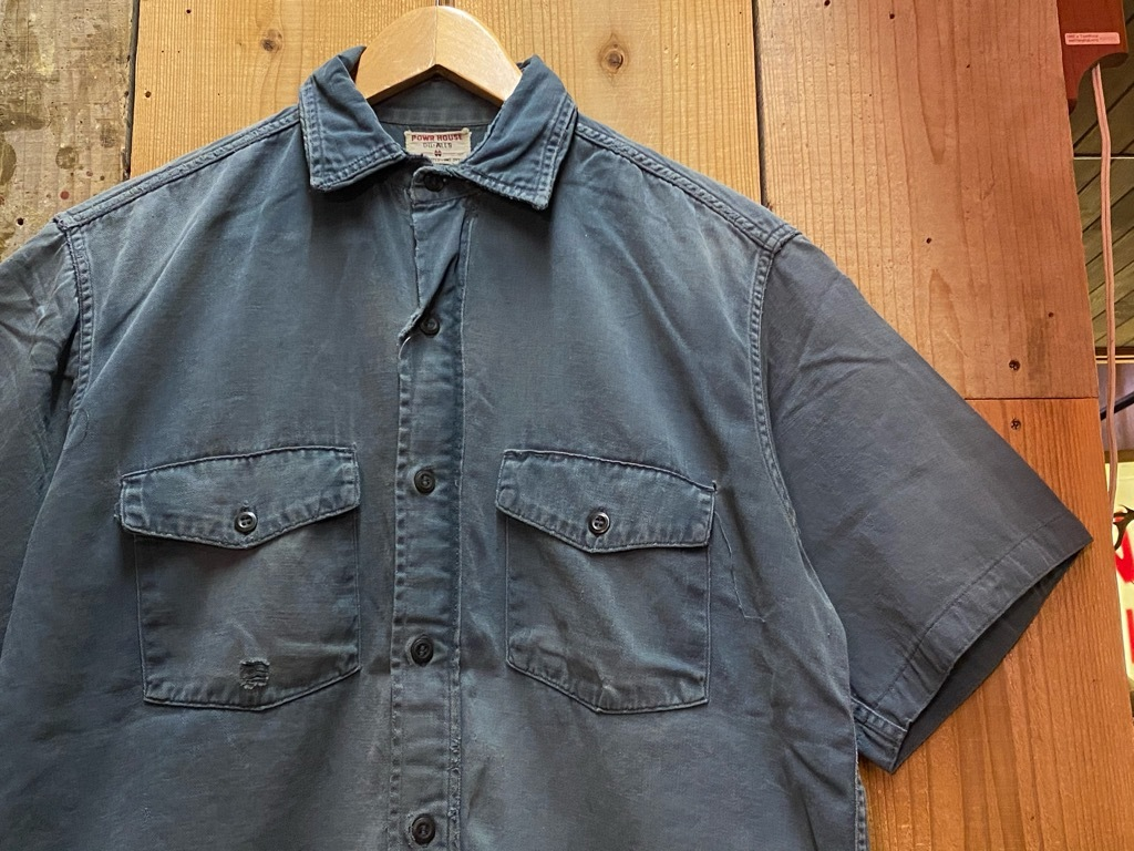 6月16日(水)マグネッツ大阪店ヴィンテージ入荷日!! #3 Shirt&Work編!! BD Shirt,LinenPants,PowrHouse,BIG MAC,Sears!!_c0078587_19363577.jpg