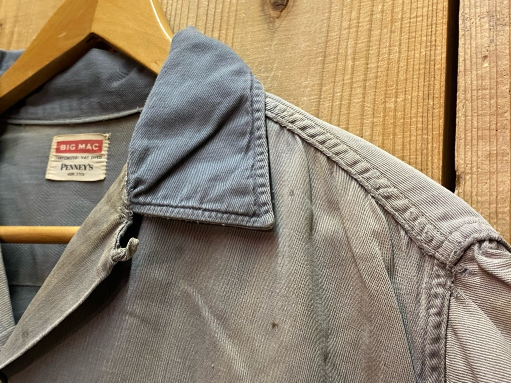 6月16日(水)マグネッツ大阪店ヴィンテージ入荷日!! #3 Shirt&Work編!! BD Shirt,LinenPants,PowrHouse,BIG MAC,Sears!!_c0078587_19382169.jpg