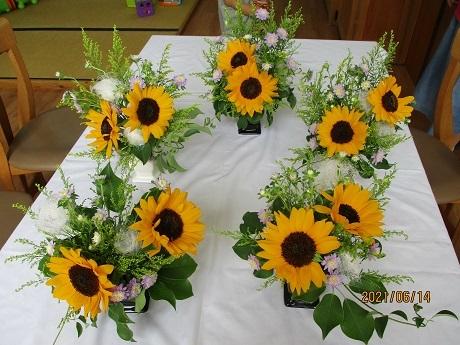 癒しの花時間 ~生花を使ったフラワーアレンジメント~_e0219012_14560276.jpg