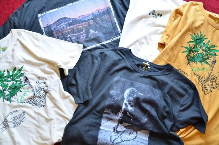 GO HEMPのTシャツが良いんです。_c0167336_22330158.jpg