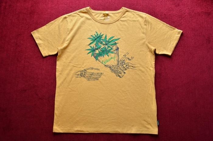 GO HEMPのTシャツが良いんです。_c0167336_22333344.jpg
