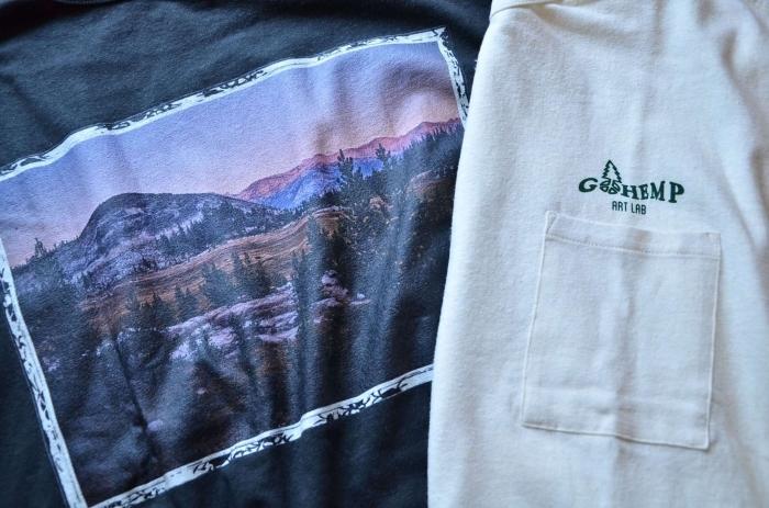 GO HEMPのTシャツが良いんです。_c0167336_22334156.jpg
