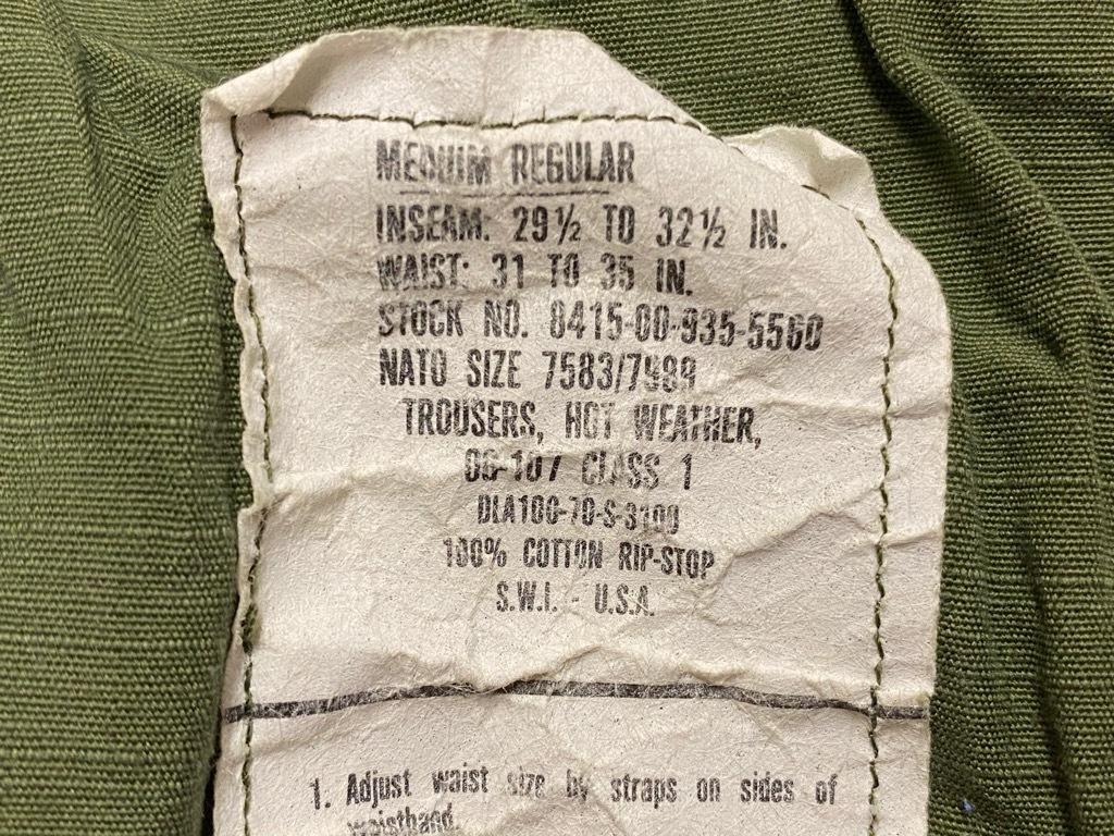 6月16日(水)マグネッツ大阪店ヴィンテージ入荷日!! #7 U.S.Army編!!FatiguePants,51CargoPants,43Trousers,WW1UnderwearDrawers!!_c0078587_22251134.jpg