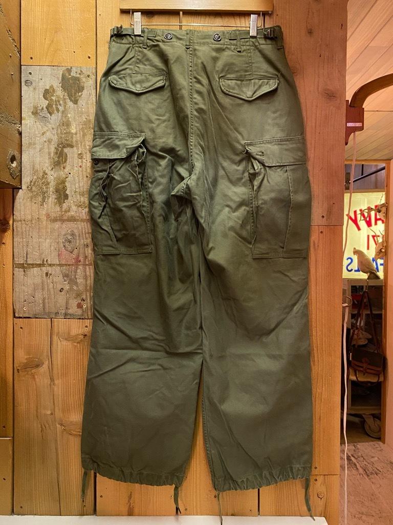 6月16日(水)マグネッツ大阪店ヴィンテージ入荷日!! #7 U.S.Army編!!FatiguePants,51CargoPants,43Trousers,WW1UnderwearDrawers!!_c0078587_22260268.jpg