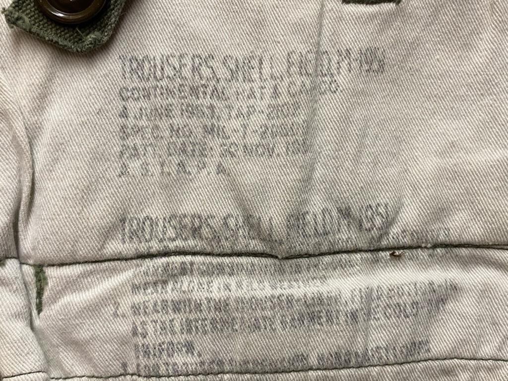 6月16日(水)マグネッツ大阪店ヴィンテージ入荷日!! #7 U.S.Army編!!FatiguePants,51CargoPants,43Trousers,WW1UnderwearDrawers!!_c0078587_22290809.jpg