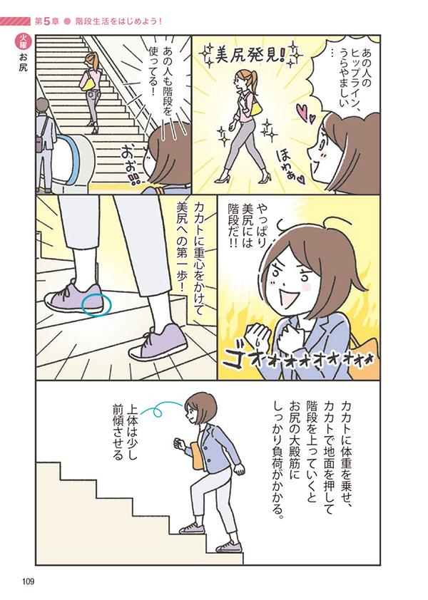 ☆お仕事☆マンガ紹介2:「体が生まれ変わる! 階段筋トレ」_c0007402_11034973.jpg