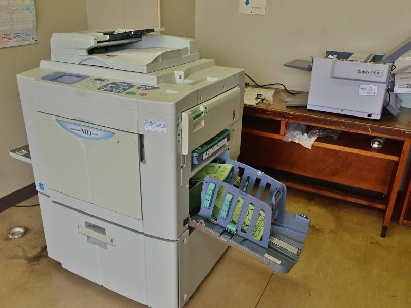 「小さな縁日」開催のチラシ2千枚を印刷しました_c0336902_18311135.jpg