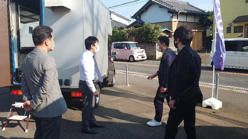 キッチンカーの製造工場見学  千葉県佐倉市_b0237229_19303956.jpg