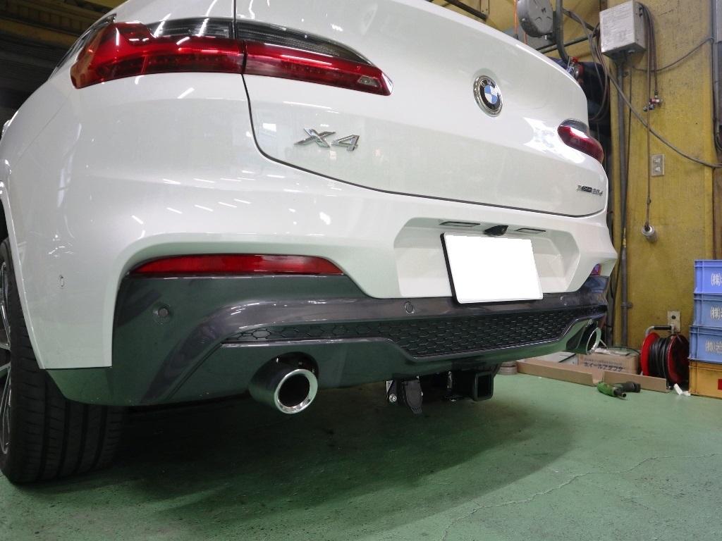 BMW・X4にヒッチメンバー_e0188729_11500078.jpg