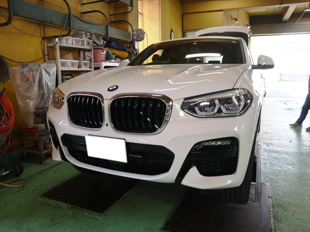 BMW・X4にヒッチメンバー_e0188729_11500146.jpg