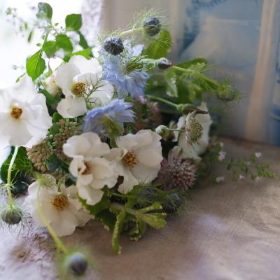 オークリーフ(オードリーを入れた花束)_f0049672_17221726.jpg