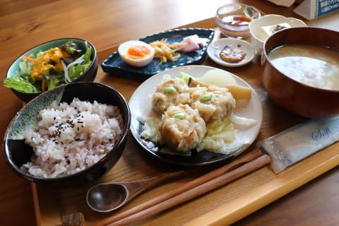 山の子けの汁ご膳:高岡の森古民家カフェ山の子(弘前市) - 津軽ジェンヌのcafe日記