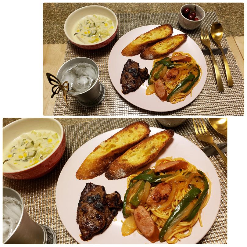 お家ご飯と、美味しいおやつ。_d0224894_10202572.jpg