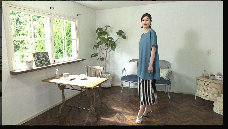 「手縫いで楽しむ ゆったりシルエットのチュニック」NHKすてきにハンドメイド_d0156706_13574377.jpg