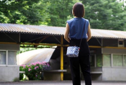「mini shoulder」で夏のお出かけ_e0243765_22551696.jpg