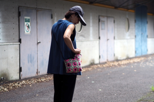「mini shoulder」で夏のお出かけ_e0243765_22575695.jpg