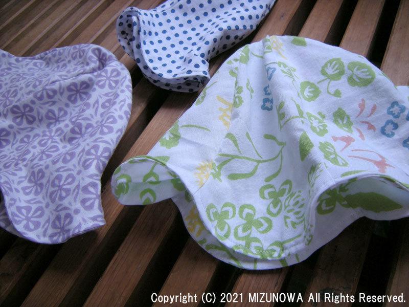 赤ちゃんと手ぬぐい帽子_d0255366_16360162.jpg