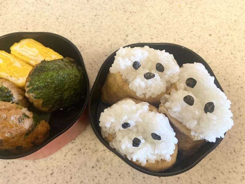 今日のお弁当(いぬり寿司)_d0327373_07323310.jpeg