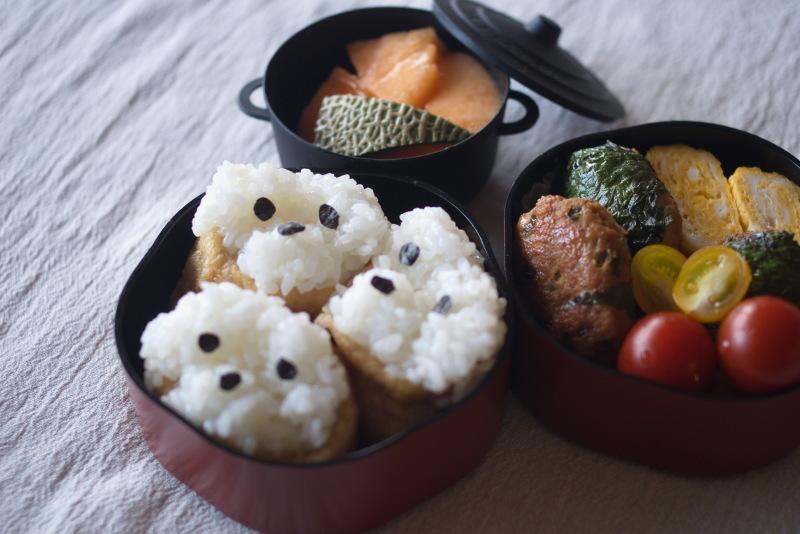 今日のお弁当(いぬり寿司)_d0327373_07353590.jpg