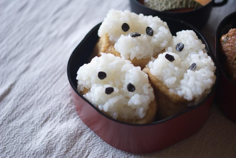 今日のお弁当(いぬり寿司)_d0327373_07354466.jpg