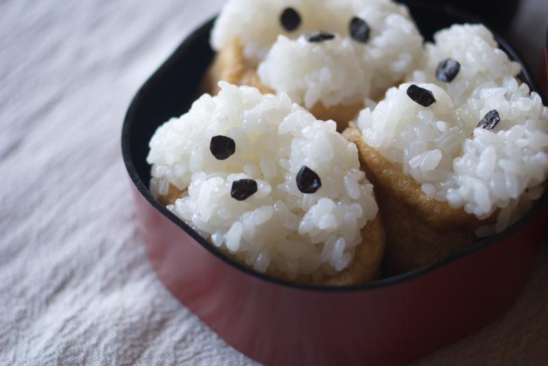 今日のお弁当(いぬり寿司)_d0327373_07355498.jpg