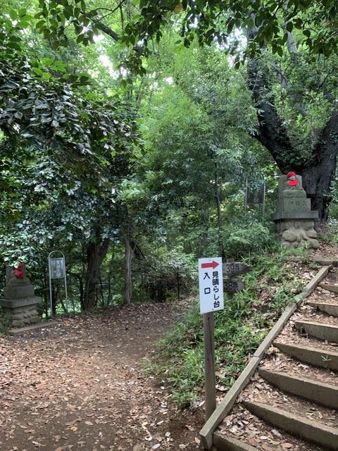 高幡不動尊境内散策コースから、かたらいの路多摩丘陵コースへ。_e0133780_21372689.jpg