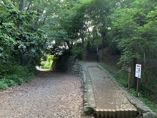 高幡不動尊境内散策コースから、かたらいの路多摩丘陵コースへ。_e0133780_21503897.jpg