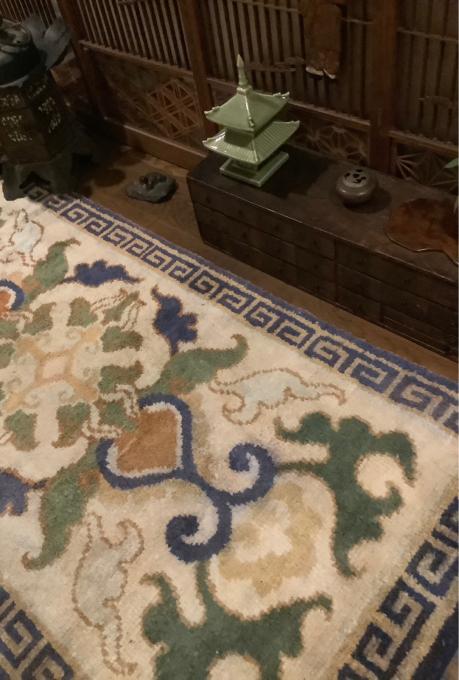 マンションの玄関廊下の室礼_a0269183_00070449.jpg