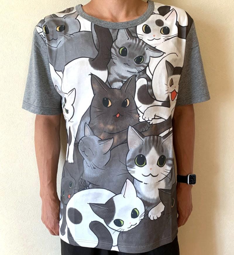 フェリシモ猫部「猫好き猛アピールTシャツ」_d0118933_12051189.jpg