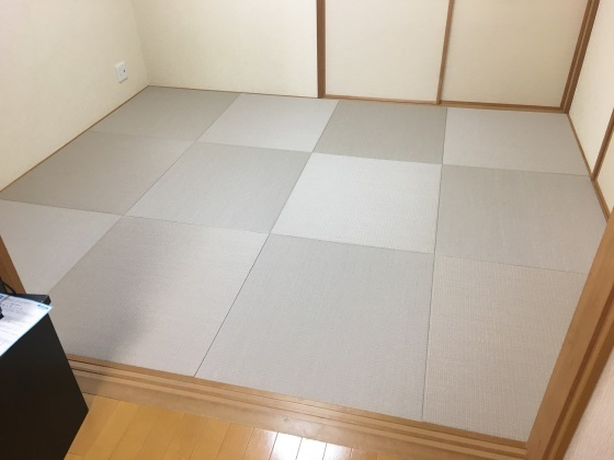 【船橋市北本町】44%off琉球畳の施工例&日記_b0142750_09084038.jpeg