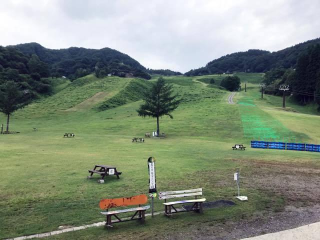 スキーで滑って降りてた道を車でゲレンデまで...._b0194185_22023690.jpg