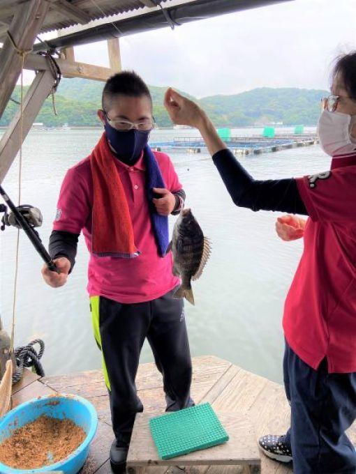 釣り教室行ってきましたー☆_c0219018_17031830.jpg