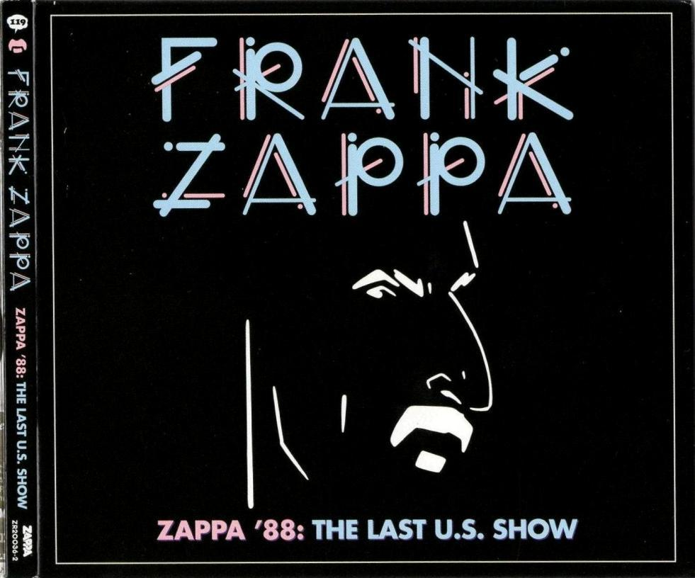 ZAPPA \'88: THE LAST U.S. SHOW (JZ)_c0058954_05085242.jpg