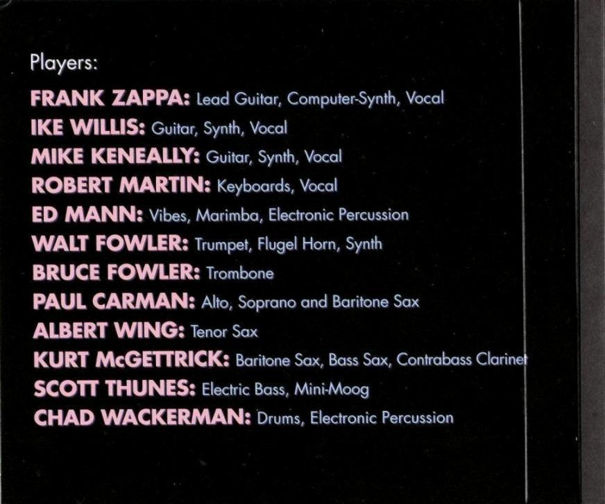 ZAPPA \'88: THE LAST U.S. SHOW (JZ)_c0058954_05101131.jpg