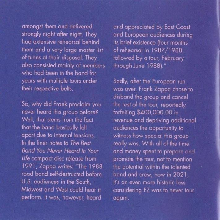 ZAPPA \'88: THE LAST U.S. SHOW (JZ)_c0058954_05121784.jpg