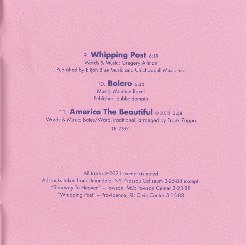 ZAPPA \'88: THE LAST U.S. SHOW (JZ)_c0058954_08474933.jpg