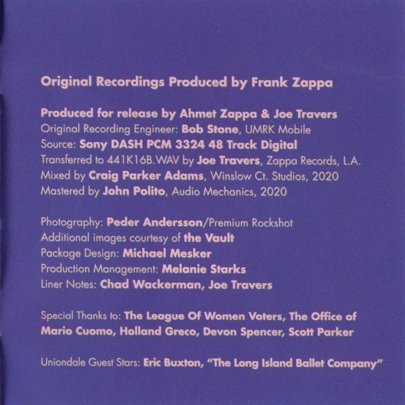 ZAPPA \'88: THE LAST U.S. SHOW (JZ)_c0058954_08484220.jpg