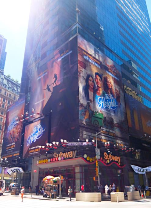 タイムズ・スクエアで見かけた映画版『イン・ザ・ハイツ』の巨大看板_b0007805_23164991.jpg