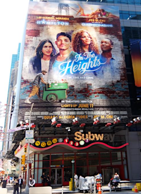 タイムズ・スクエアで見かけた映画版『イン・ザ・ハイツ』の巨大看板_b0007805_23165457.jpg