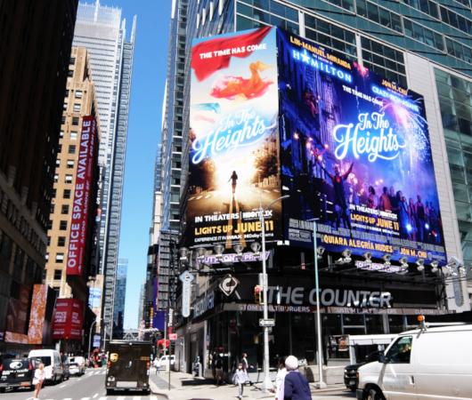 タイムズ・スクエアで見かけた映画版『イン・ザ・ハイツ』の巨大看板_b0007805_23183454.jpg