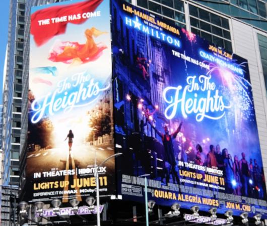 タイムズ・スクエアで見かけた映画版『イン・ザ・ハイツ』の巨大看板_b0007805_23184693.jpg
