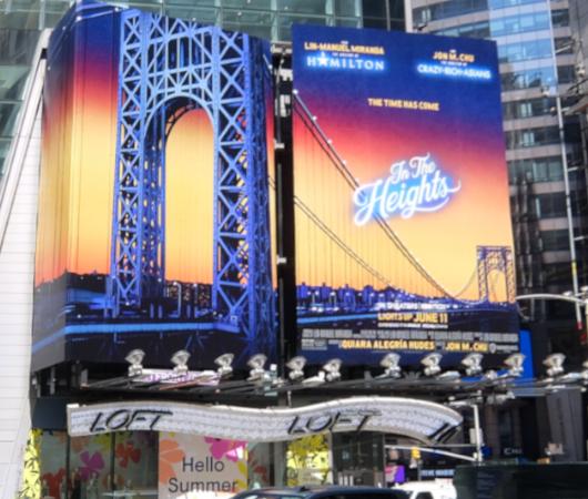 タイムズ・スクエアで見かけた映画版『イン・ザ・ハイツ』の巨大看板_b0007805_23191096.jpg