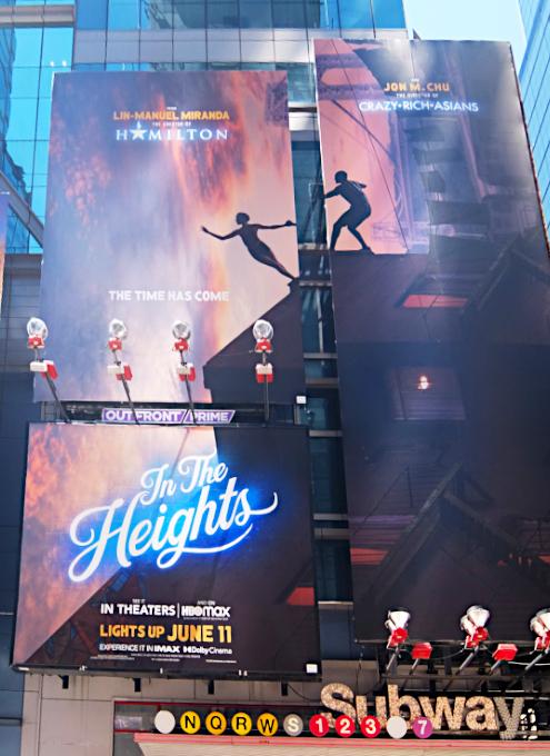 タイムズ・スクエアで見かけた映画版『イン・ザ・ハイツ』の巨大看板_b0007805_23195953.jpg